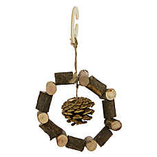 National Geographic™ Small Animal Wood Wreath