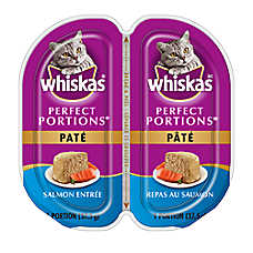 WHISKAS® Perfect Portions Salmon Pate Cat Food