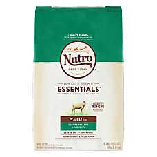 NUTRO™ Wholesome Essentials Adult Dog Food - Natural, Non-GMO, Lamb & Rice