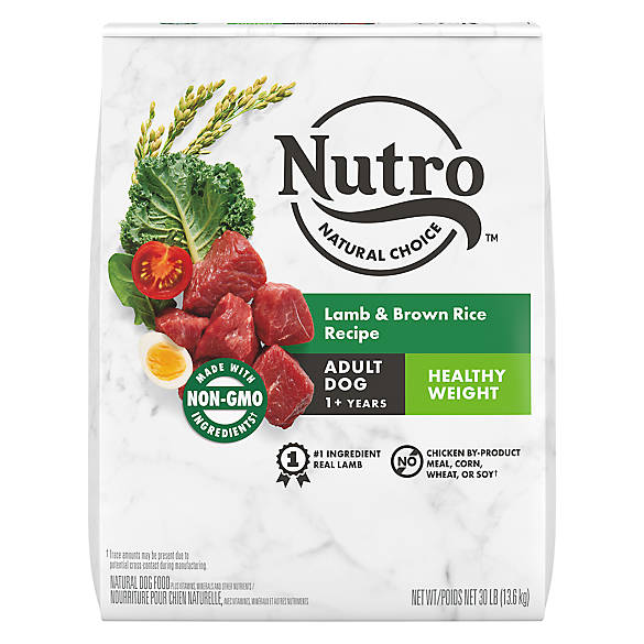 Nutro Dog Food Lamb And Rice Lite