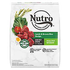 NUTRO™ Wholesome Essentials Healthy Weight Adult Dog Food - Natural, Non-GMO, Lamb & Rice
