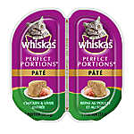 WHISKAS® Perfect Portions Chicken & Liver Pate Cat Food