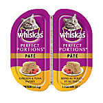 WHISKAS® Perfect Portions Chicken & Tuna Pate Cat Food