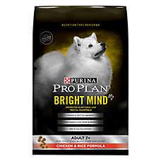 Purina® Pro Plan® Bright Mind Chicken & Rice Senior Dog Food