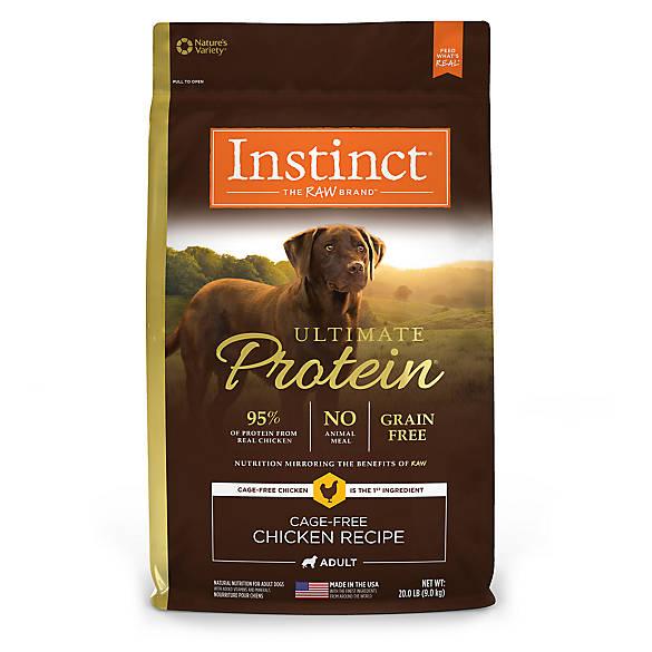 Natures Variety Instinct Grain Free Dry Dog Food