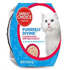 Grreat Choice Cat Food Salmon