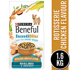 Purina® Beneful® IncrediBites Roasted Chicken Small Breed Adult Dog Food