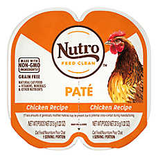 sale $1.15 ea. when you buy 6 or more NUTRO™ grain free perfect portions cat food, 2.65 oz. tubs