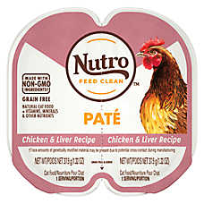 NUTRO® Perfect Portions Grain Free Chicken & Liver Adult Cat Food