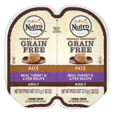 NUTRO® Perfect Portions Grain Free Turkey & Liver Adult Cat Food