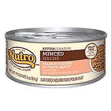 NUTRO® Minced Salmon Kitten Food