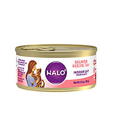 HALO® Indoor Cat Food - Natural, Grain Free, Salmon Recipe Pate
