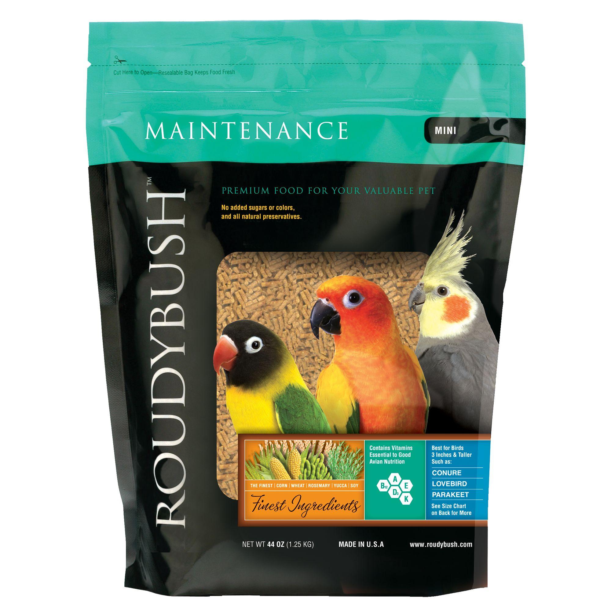 Mini Roudybush Daily Maintenance Bird Food 44-Ounce
