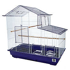 All Living Things® Slanted House Style Bird Cage