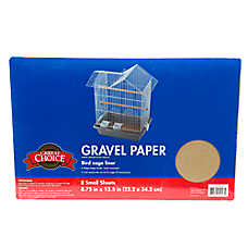 Grreat Choice® Gravel Bird Cage Paper