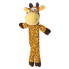 KONG® Bendeez Giraffe Dog Toy - Squeaker