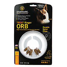 Starmark Treat Ringer Orb Dog Toy