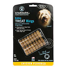 Starmark® Edible Treat Rings - Chicken Flavor