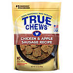 True Chews® Premium Sizzlers Dog Treat - Natural, Chicken & Apple