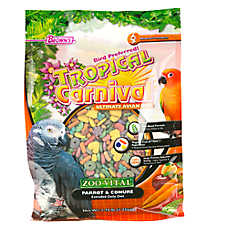 Tropical Carnival ZOO-VITAL Extruded Daily Diet for Parrots & Conures