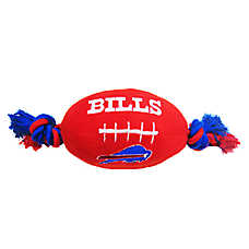Buffalo Bills NFL Football Dog Toy
