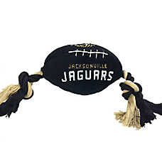 Jacksonville Jaguars NFL Football Dog Toy
