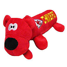 Kansas City Chiefs NFL Tube Dog Toy
