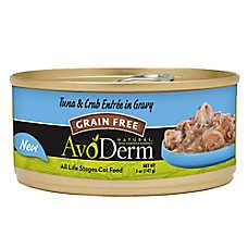 AvoDerm® Natural Cat Food - Grain Free, Tuna & Crab