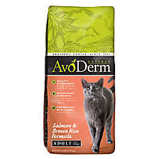 AvoDerm® Natural Adult Cat Food - Salmon & Brown Rice