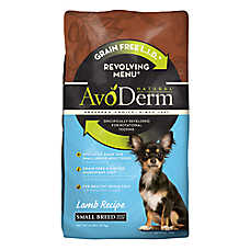 AvoDerm® Natural Revolving Menu Small Breed Adult Dog Food - Grain Free, Limited Ingredient, Lamb