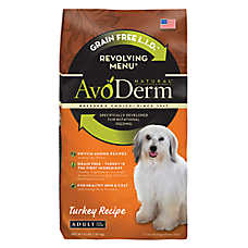 Avoderm® Natural Revolving Menu Adult Dog Food - Grain Free, Limited Ingredient, Turkey