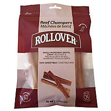 ROLLOVER™ Beef Chompers Dog Treat