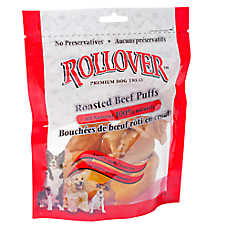 ROLLOVER™ Roasted Beef Puffs Dog Treat