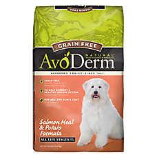 AvoDerm® Natural Dog Food - Grain Free, Salmon Meal & Potato