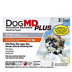 Dog MD™ Maximum Defense Plus 4-22 Lb Dog Flea & Tick Treatment (Compare to FRONTLINE® Plus)
