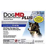 Dog MD Maximum Defense™ PLUS 23-44 Lb Dog Flea & Tick Treatment (Compare to FRONTLINE® Plus)
