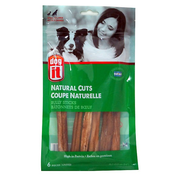 dogit natural cuts bully stick 5 6 dog treat dog chewy treats petsmart. Black Bedroom Furniture Sets. Home Design Ideas