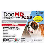 Dog MD Maximum Defense™ PLUS 89-132 Lb Dog Flea & Tick Treatment (Compare to FRONTLINE® Plus)