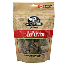 Richmond Valley Farms Freeze Dried Dog Treat - Natural, Grain Free, Beef Liver