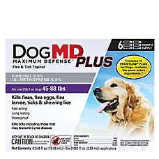 Dog MD™ Plus 45-88 Lb Dog Flea & Tick Treatment (Compare to FRONTLINE® Plus)