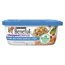 Purina® Beneful® Chopped Blends Dog Food - Turkey, Sweet Potatoes & Brown Rice