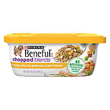Purina® Beneful® Chopped Blends Dog Food - Chicken, Liver & Peas