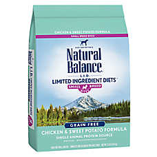 Natural Balance Limited Ingredient Diets Small Breed Dog Food - Grain Free, Chicken & Sweet Potato