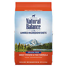 Natural Balance Limited Ingredient Diets Dog Food - Grain Free, Sweet Potato & Fish