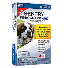 SENTRY® Fiproguard® Plus 89-132 Lb Flea & Tick Treatment (Compare to FRONTLINE® Plus)