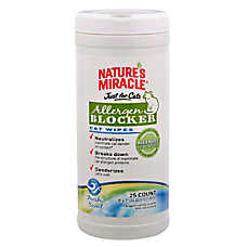 NATURE'S MIRACLE™ Allergen Blocker Cat Wipes
