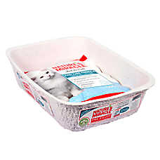 Nature's Miracle® Pre-Filled Crystal Disposable Cat Litter Pan