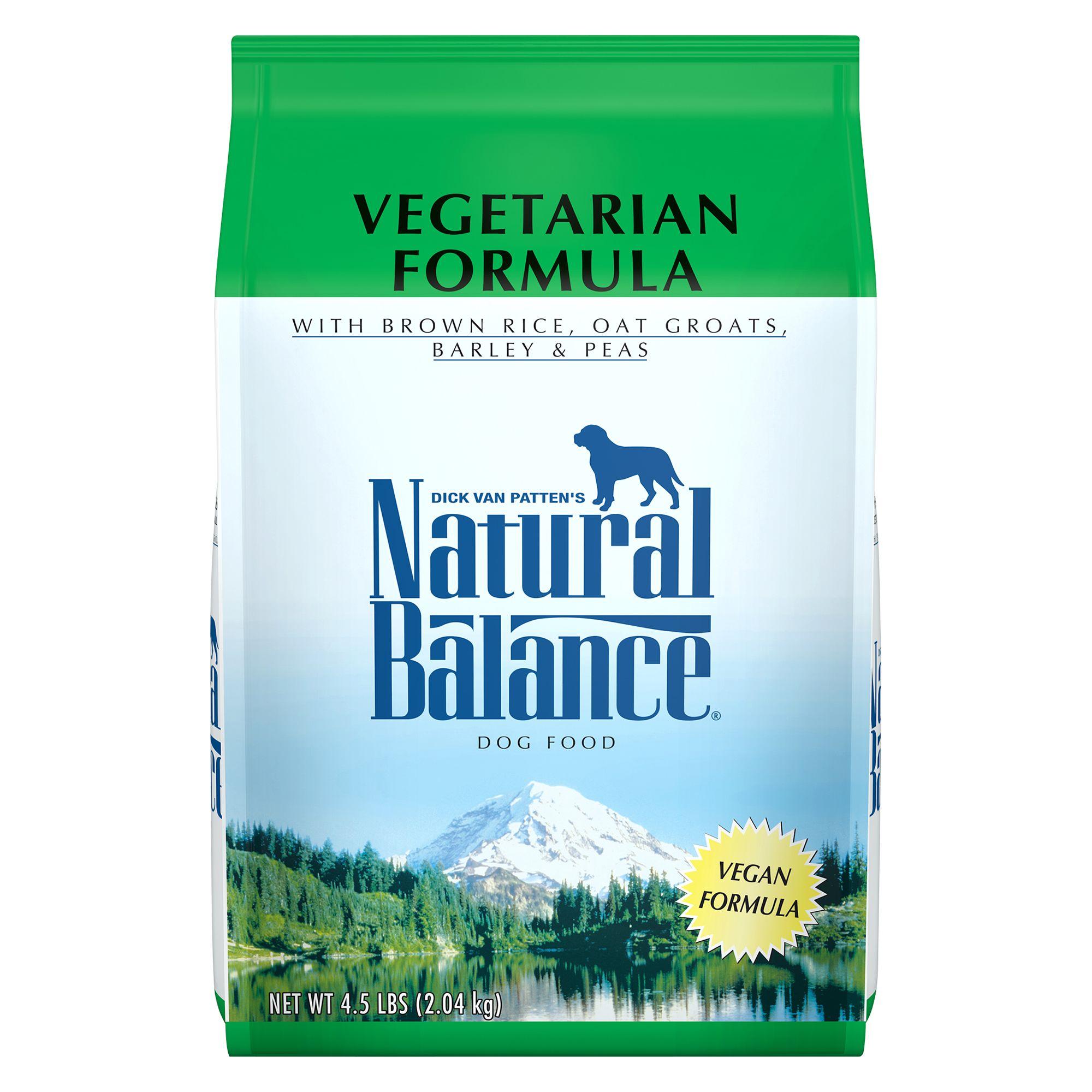 Natural Balance Dog Food Vegetarian Vegan
