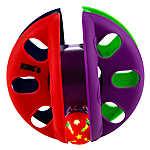 KONG® Crisscross Rolling Cat Toy