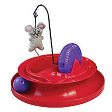 KONG® Playground Cat Toy - Catnip, Treat Dispenser